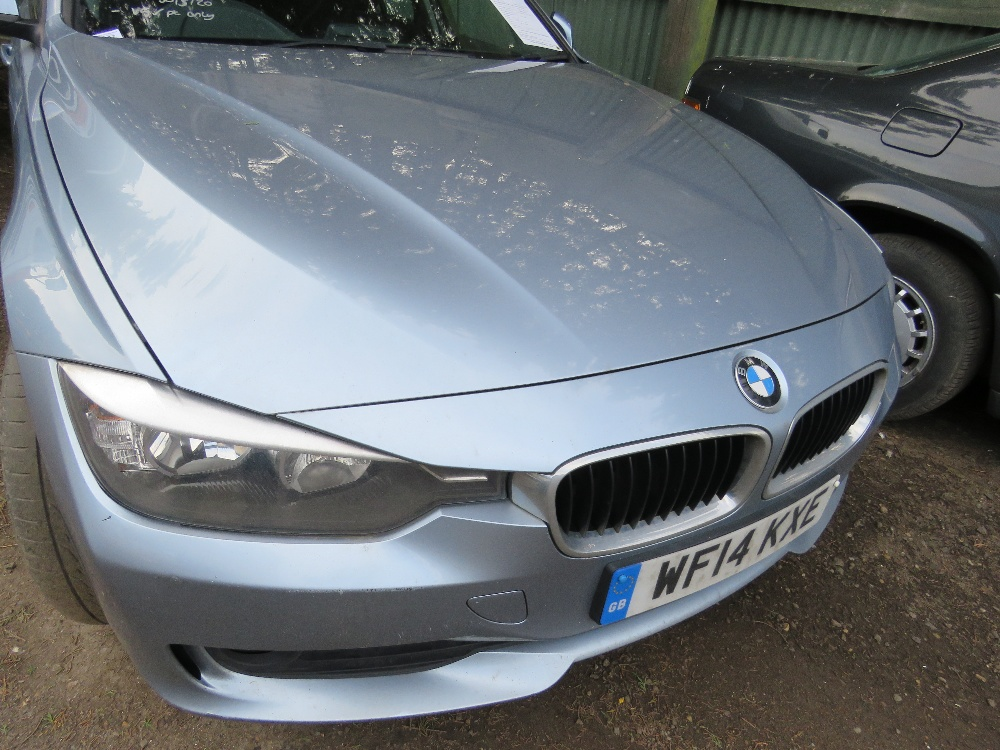 BMW 320D SE saloon car, reg. WF14 KXE - Image 2 of 7