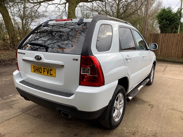 KIA SPORTAGE 4WD CAR, 5 SPEED MANUAL, 70,000 REC MILES APPROX, MOT TILL 11/03/21 WHEN TESTED WAS - Image 2 of 7