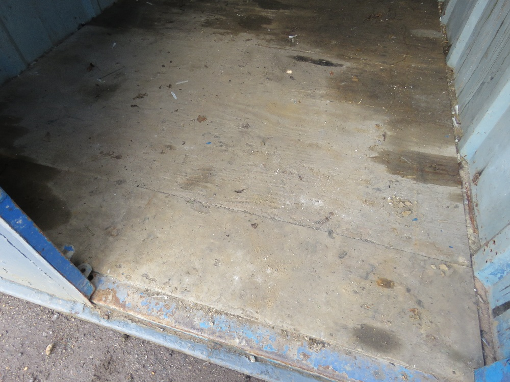 SECURE STEEL CONTAINER WITH KEYS 10FTX8FT APPROX. - Image 4 of 4
