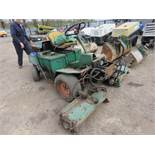 RANSOMES 213D RIDE ON TRIPLE MOWER,