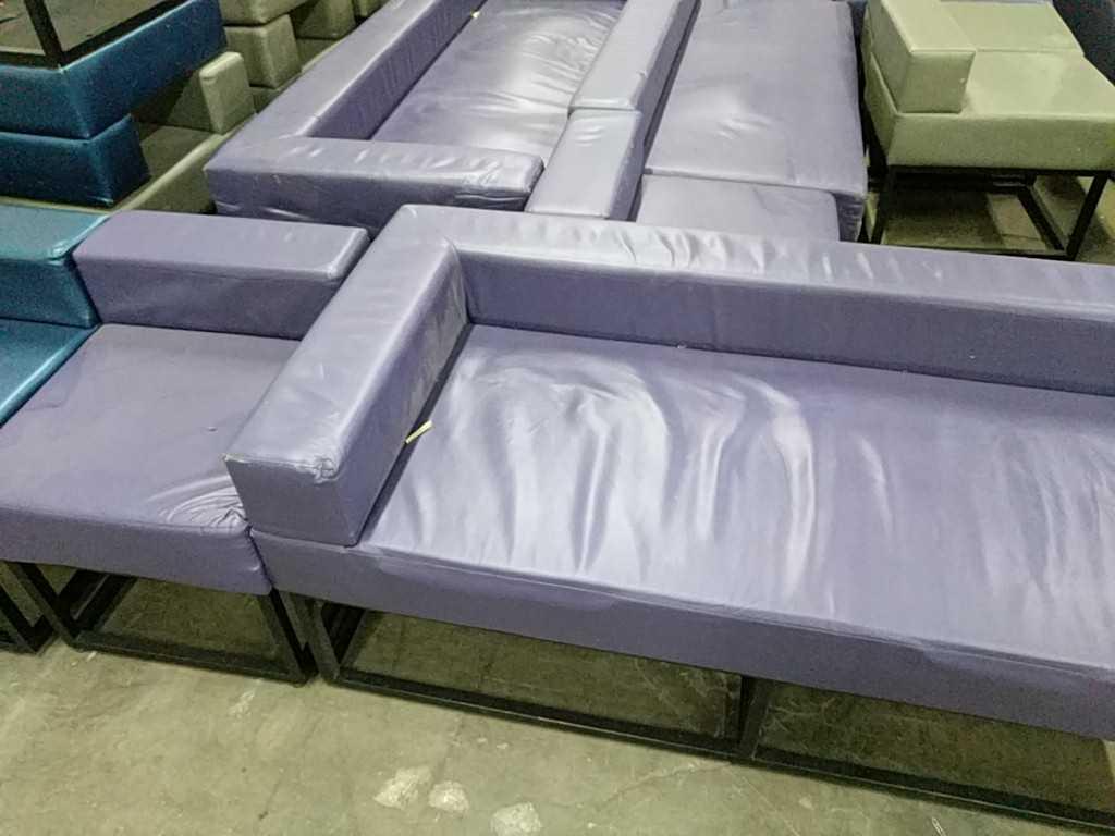 Lot 3 - Outdoor Furniture Set - Purple