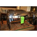 """S/S Buffet Serving Station, with S/S Insert, Insert Dims.: Aprox. 19-1/2"""" L x 11-1/2"""" W, with"""