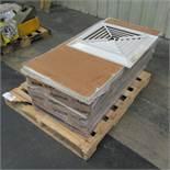 Pallet of Drop Ceiling Tiles