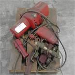 1-Ton Dayton Electric Chain Hoist