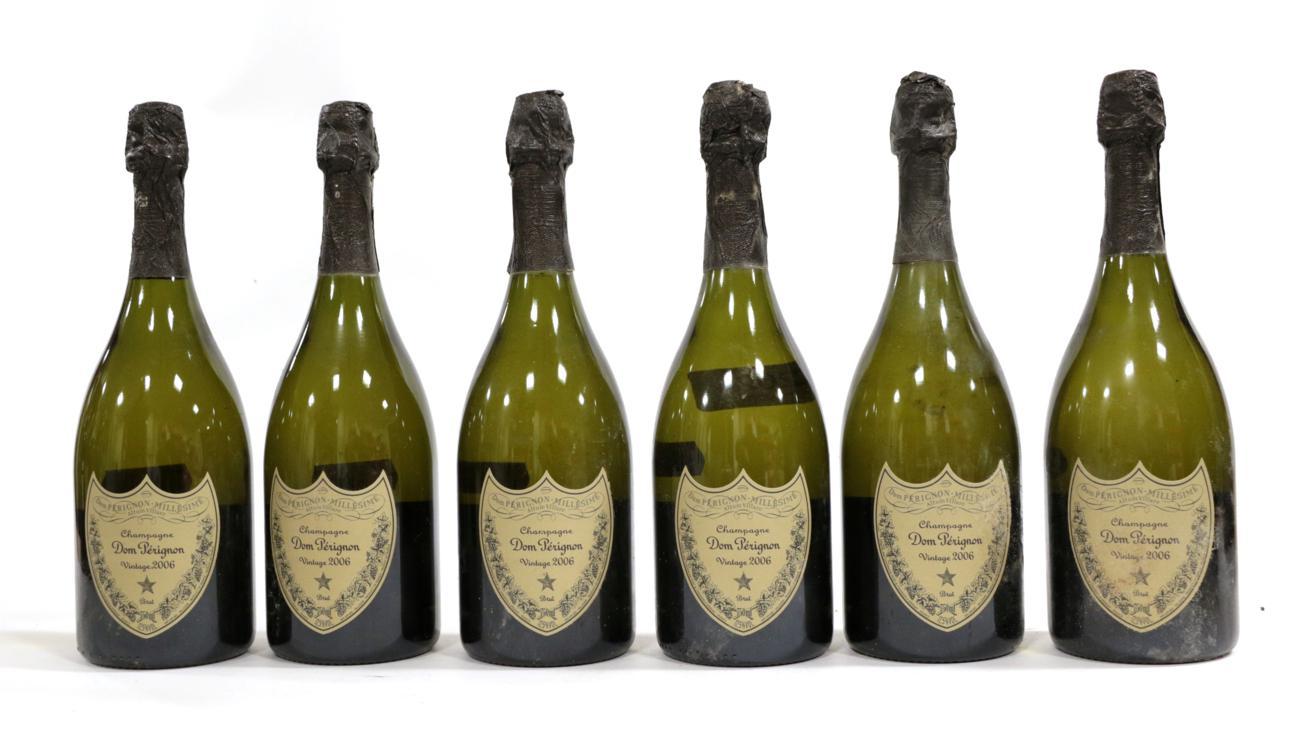 Lot 2024 - Moët et Chandon Dom Pérignon 2006 (six bottles)