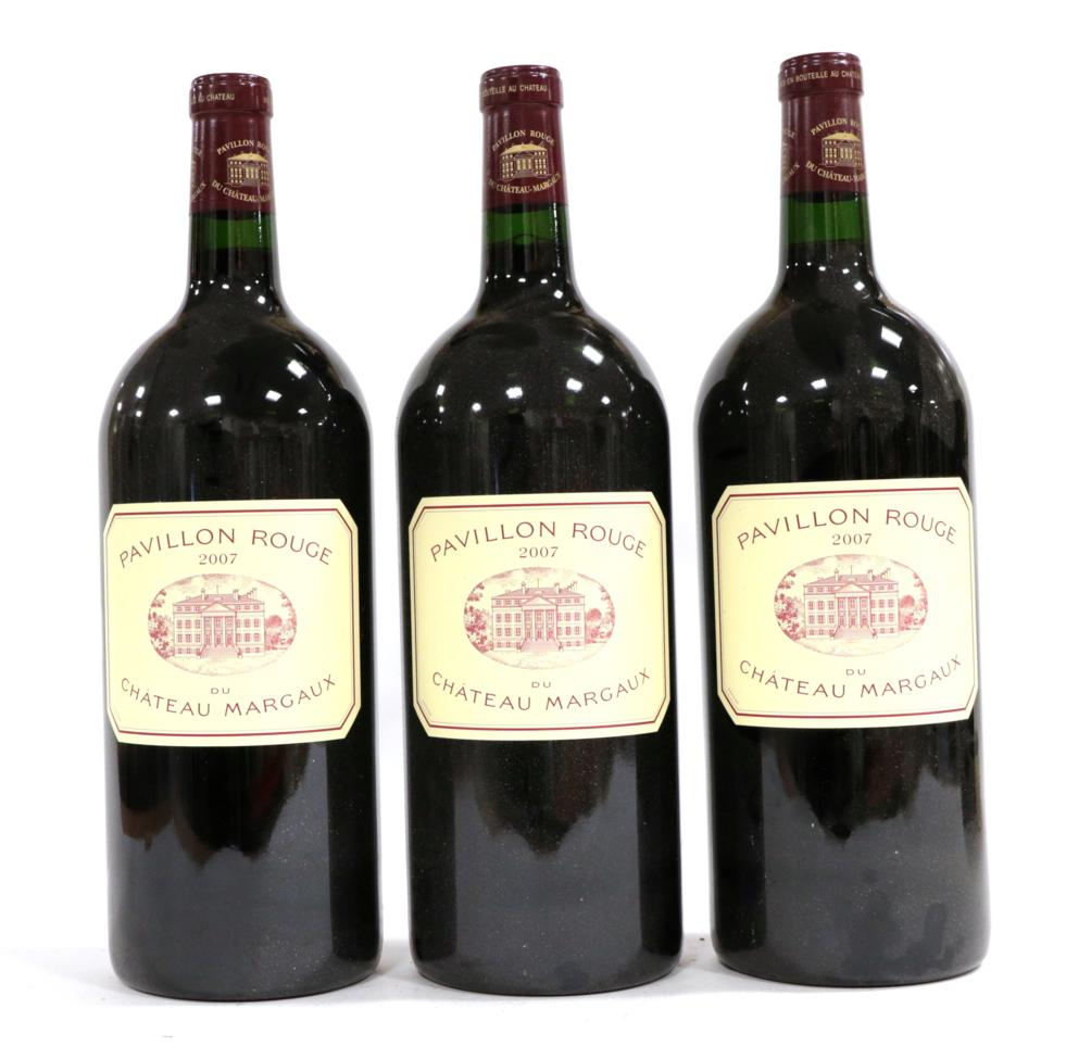 Lot 2128 - Pavillon Rouge du Château Margaux 2007 Margaux (three double magnums)