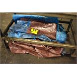 ASSORTED TARPS UNDER BENCH