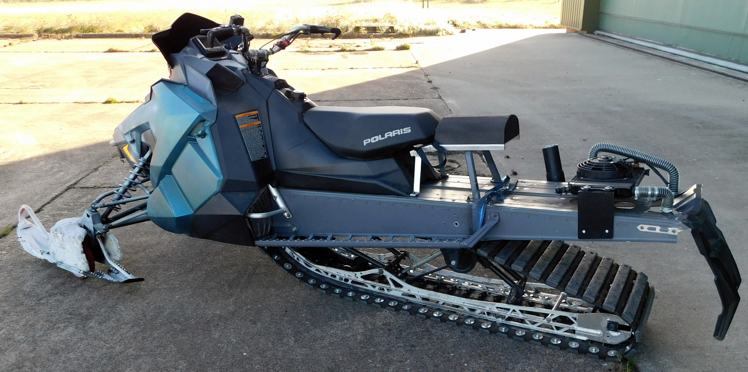 Lot 38 - Polaris Assault RMX 800 Snowmobile (Skidoo 2), Twin Cylinder 795cc Two Stroke Engine, Modified Track