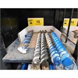 LOT/ HILTI TE-70 CARBIDE TIPPED DRILLS