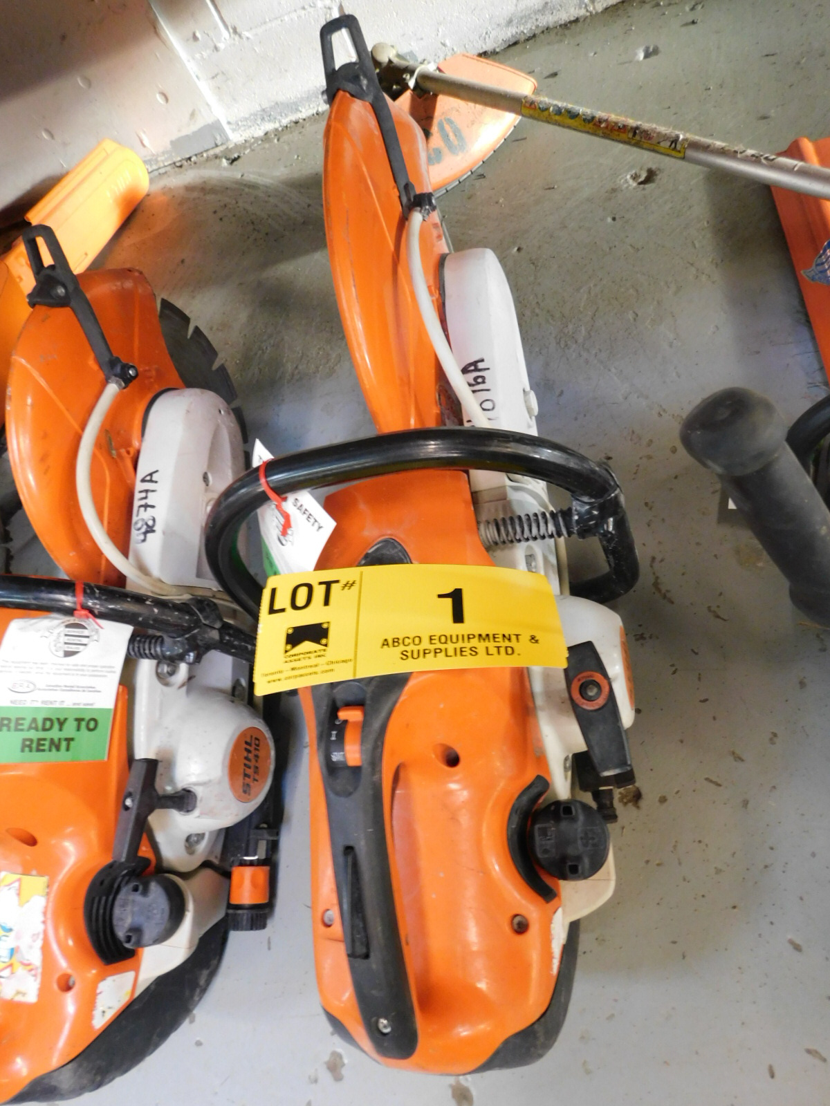 "STIHL TS-420 14"" QUICK-CUT SAW"