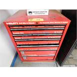 HILTI 7 DRAWER TOOL CABINET