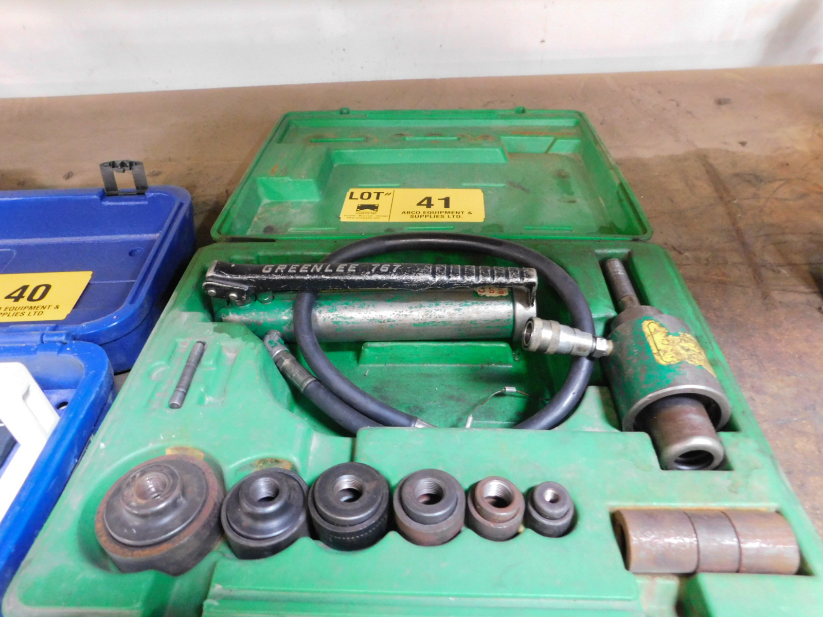 GREENLEE HYDRAULIC KNOCK-OUT SET
