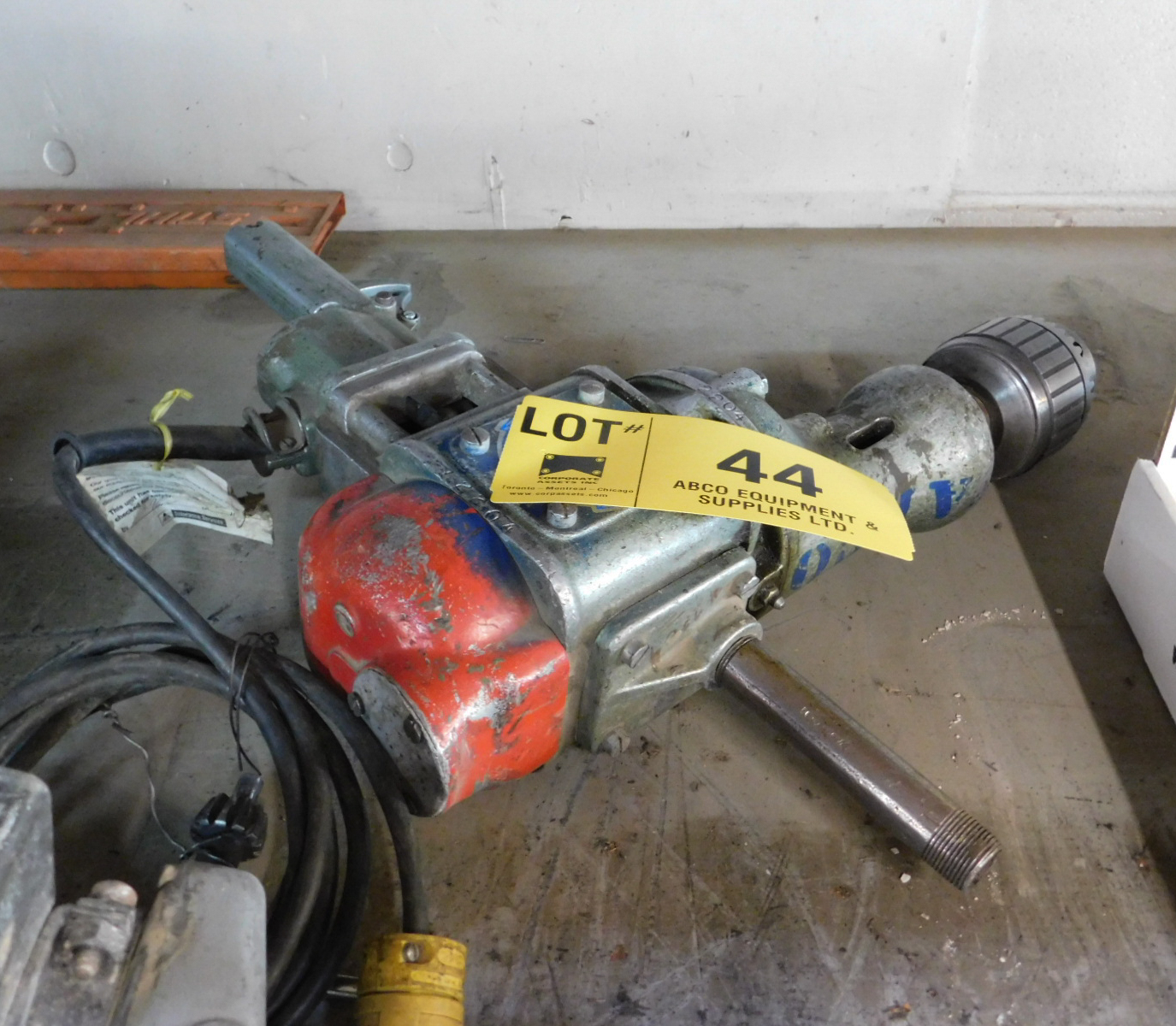 H.D. ELECTRIC DRILL