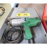 """HITACHI 3/4"""" DRIVE ELECTRIC IMPACT GUN"""