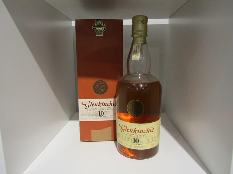 The Glenkinchie 10 years Old Single Malt Scotch Whisky, Lowlands, Edinburgh Malt,