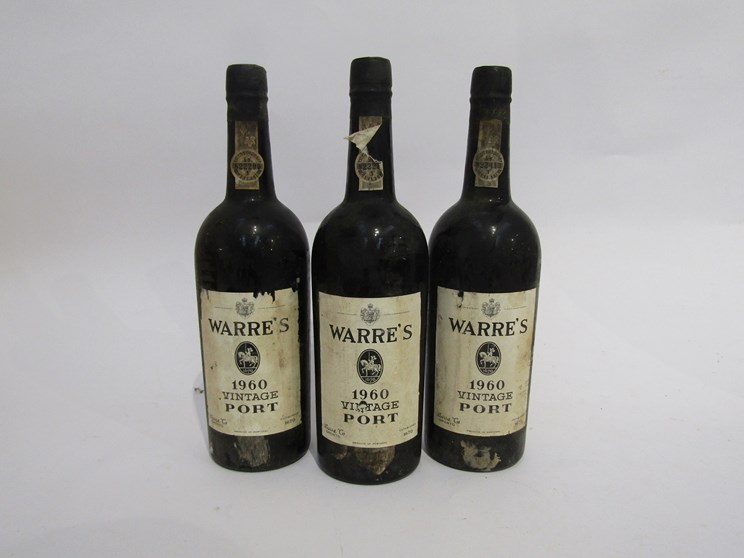 Lot 7054 - 1960 Warre's Vintage Port x 9
