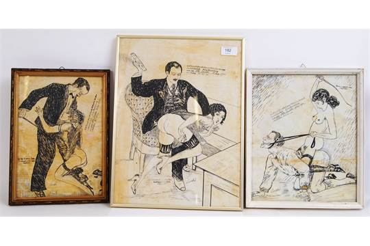 German erotic drawings