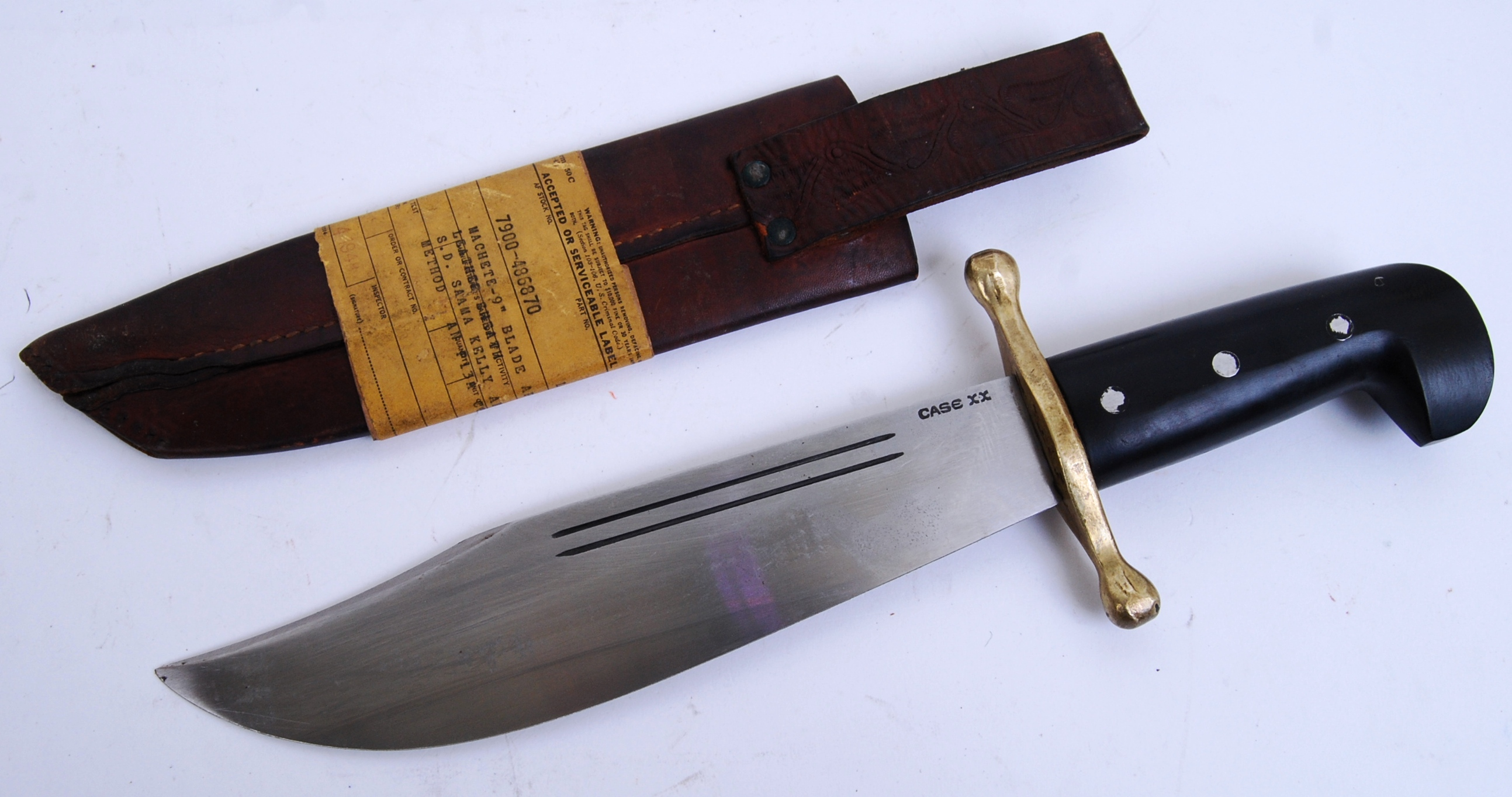 V44 Knife A Mid Century Wwii Era Us Rangers Army Issue