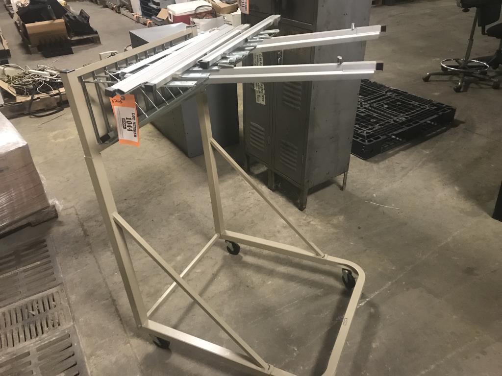 Blueprint rack