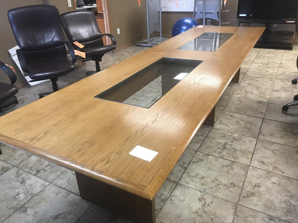 Lot 1054 - Conference table