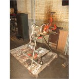 Ridgid 300-T2 Power Pipe Threading Machine, 38 rpm, includes: attached reamer, cutter, (1) no.