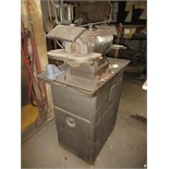 Double End Grinder, with stand. HIT# 2179329. machine shop. Asset Located at 10 Valley St, Pulaski,
