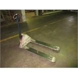 Komatsu L50 MWP25C-1A Hand Hydraulic Pallet Jack, 5000-lbs. capacity. SN# A00019-95. HIT# 2179380.