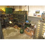 Lot Contents of Machine Shop Office, includes: perishable tooling, cabinets & contents, machine