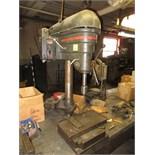 Bench Type Drill Press, with Dayton 1/2hp motor, 208-220/440VAC, three phase. HIT# 2179333. machine