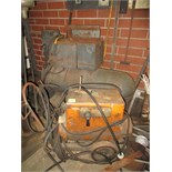 Lot of (2) Assorted Arc Welders, please inspect. HIT# 2179341. basement weld shop. Asset Located at