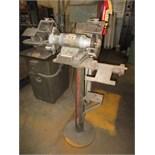 Dayton 2Z841 Double End Pedestal Grinder, 1/2-hp, 3450 rpm, 115 VAC. HIT# 2179330. machine shop.