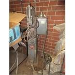 Ames 70SS Spot Welder, 208 VAC, 60Hz. SN# 4325. HIT# 2179338. basement weld shop. Asset Located at