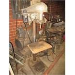 Delta Floor Type Drill Press. SN# 72-9927. HIT# 2179342. basement weld shop. Asset Located at 10