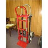 Lot of (2) 4-Wheel Hand Trucks. HIT# 2179453. conf. room. Asset Located at 10 Valley St, Pulaski,