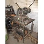 Delta Milwaukee Abrasive Cutoff Saw. SN# 89-3874. HIT# 2179324. machine shop. Asset Located at 10