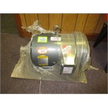 Baldor Standard-E 7.5kw Industrial Motor, 3500 rpm, never used, 208-230/480 VAC, 3 phase, 60Hz. HIT#