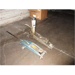 Lot of (2) Assorted Floor Jacks, includes: (1) 8000 lb. walking beam type & (1) mfg. unknown, unit