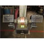 B&D Double End Grinder, 115 VAC. HIT# 2179332. machine shop. Asset Located at 10 Valley St, Pulaski,