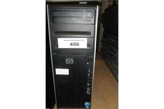 HP Z400 WORKSTATION XEON W3620 2 67GHZ PROCESSOR, 8GB RAM, 160GB HDD