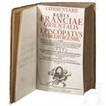 """Eckhart, Johann Georg von """"Commentarii de rebus franciae orientalis et episcopatus wirceburgensis"""