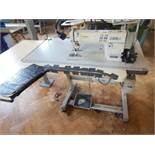 Brother DB2-B737-415 E-40 industrial flatbed sewing machine, three phase. NB: this item has no CE