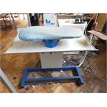 Veit VarioSet ironing table, three phase. NB: this item has no CE marking. The Purchaser is