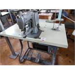Singer industrial bartack sewing machine, s/n 269W126, three phase. NB: this item has no CE marking