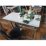 Benz 816 blind stitch sewing machine, single phase. NB: this item has no CE marking. The Purchaser