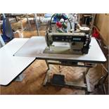 Brother DB2-B737-913 industrial flatbed sewing machine, three phase. NB: this item has no CE