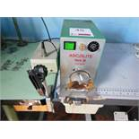 Ascolite Mark III automatic button wrapper, single phase. NB: this item has no CE marking. The