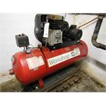 SIP 420/150 air compressor, s/n 08573 (1997). NB This lot is locted in the basement and will to...