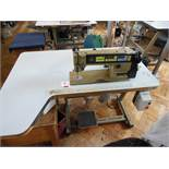 Brother Exedra DB2-B738-413 industrial flatbed sewing machine, three phase. NB: this item has no CE