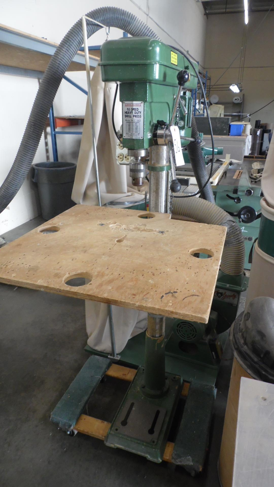 Lot 56 - CENTRAL MACHINERY 16 SPEED DRILL PRESS