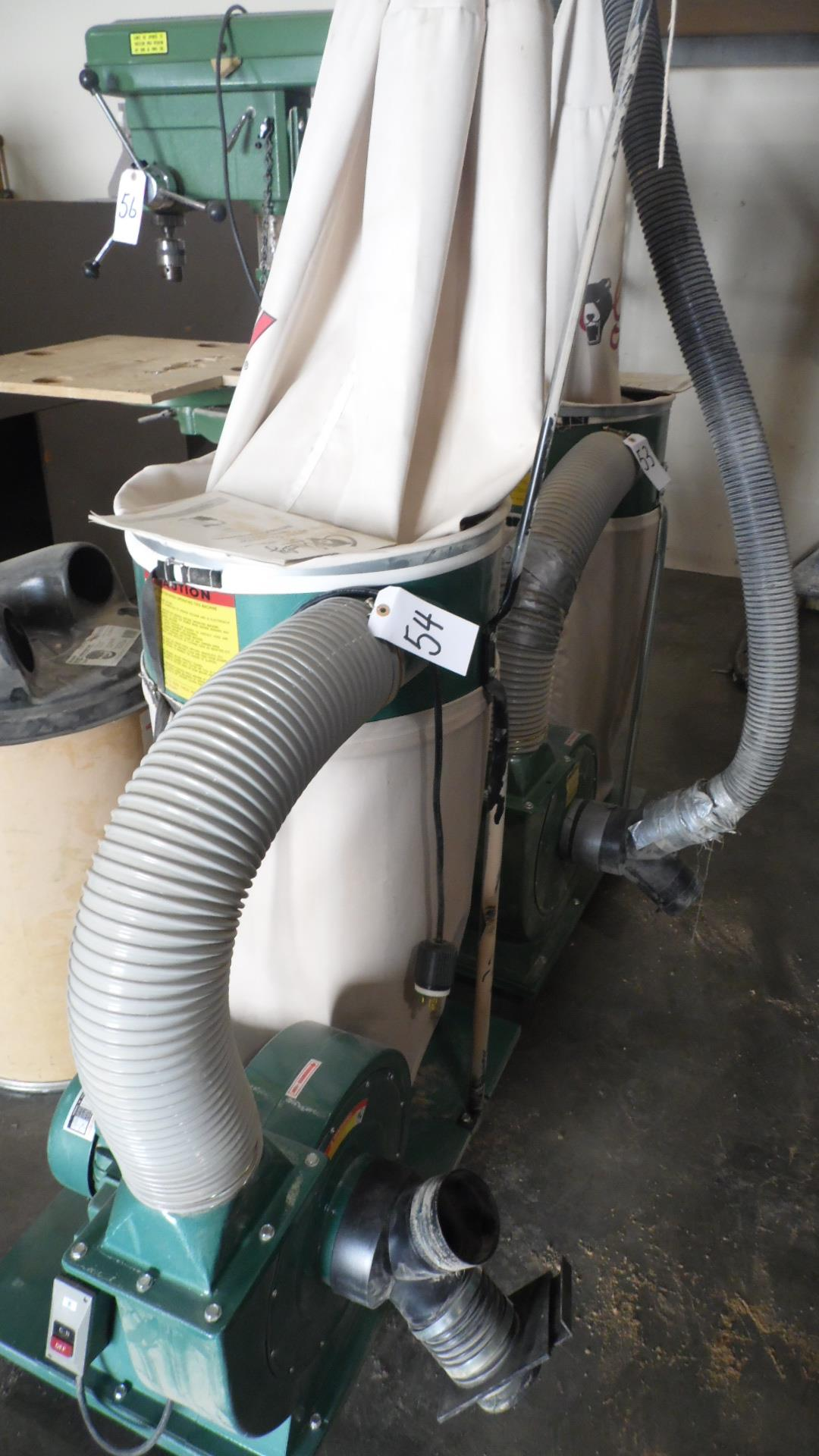 Lot 54 - GRIZZLY DUST COLLECTOR